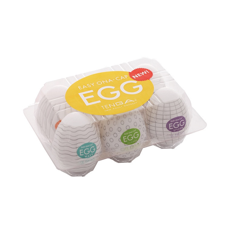 Taschenmuschi Eier