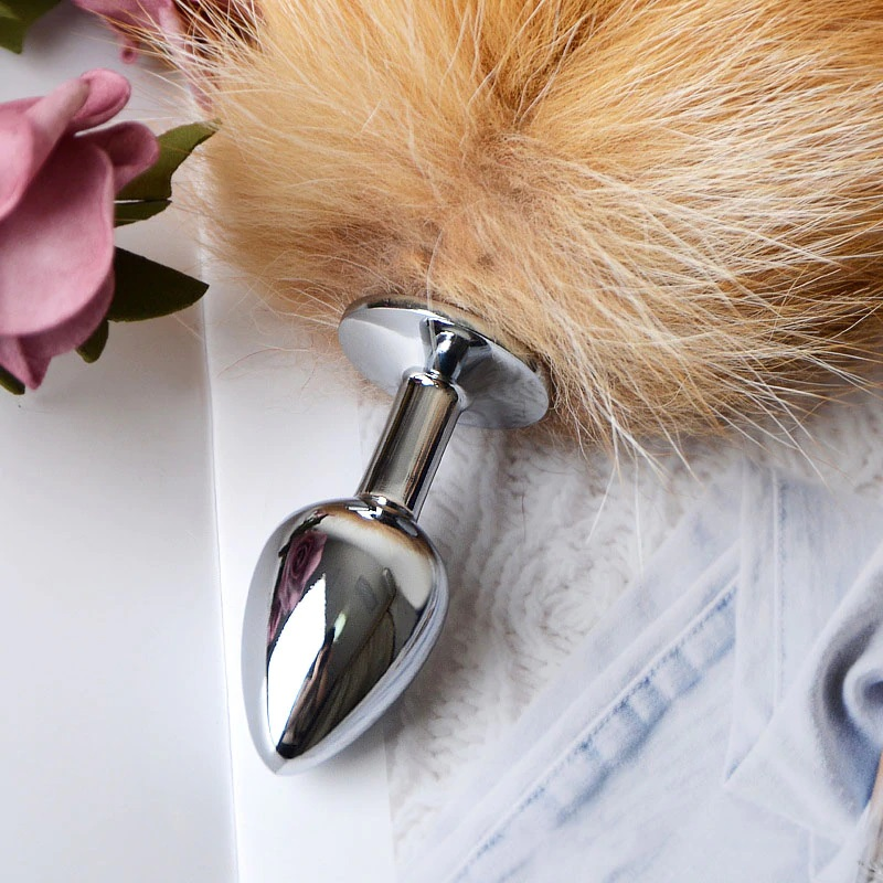 Fuchsschwanz Analplug