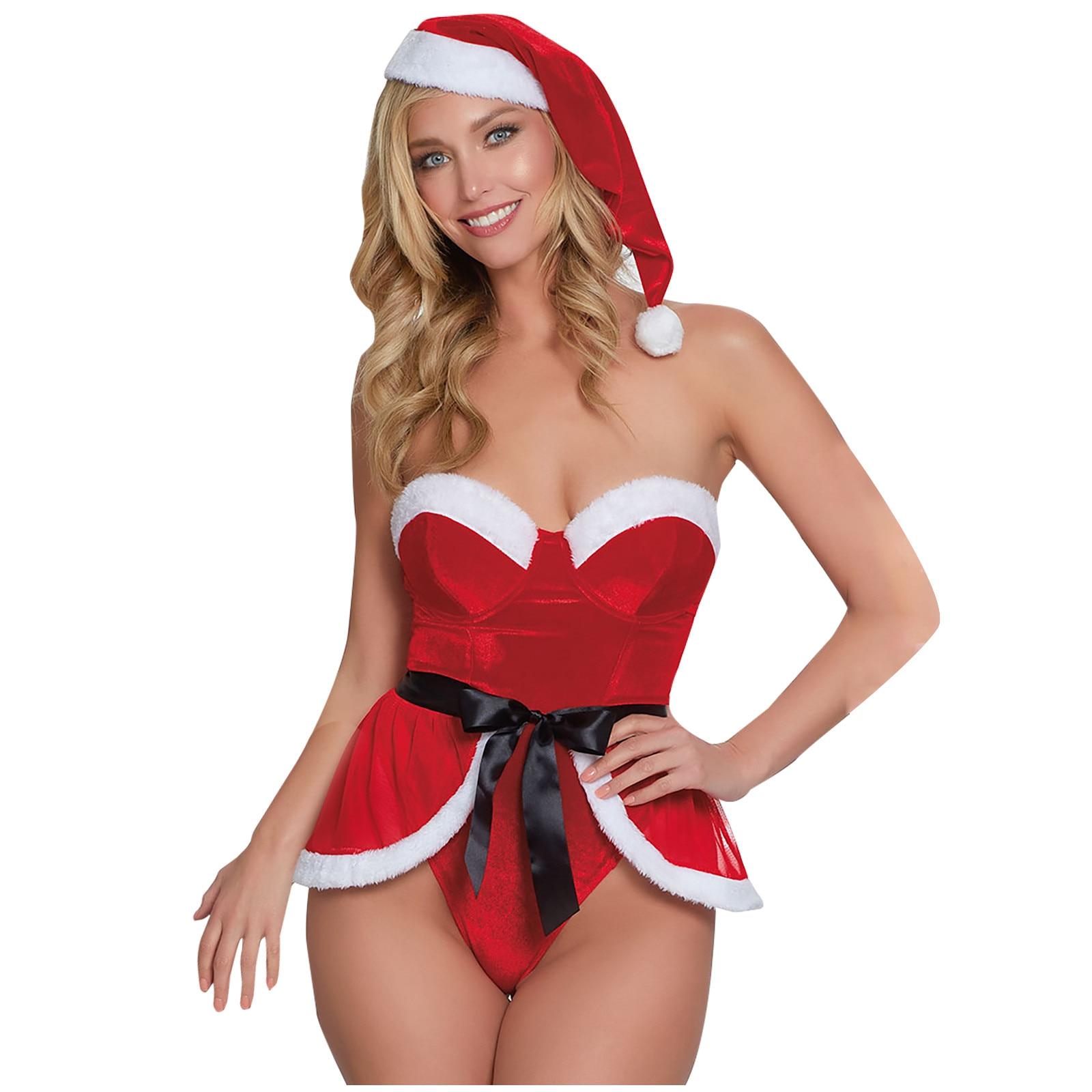 Weihnachts-Dessous sexy erotik