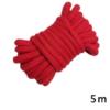 Rotes Bondage Fessel Seil