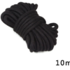 Bondage Seil Schwarz 10 Meter