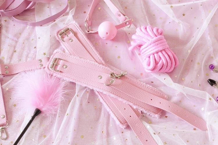 BDSM-Set pink Erotik Schweiz