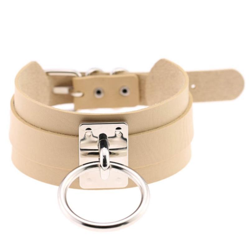 PU Leder Choker Halsband