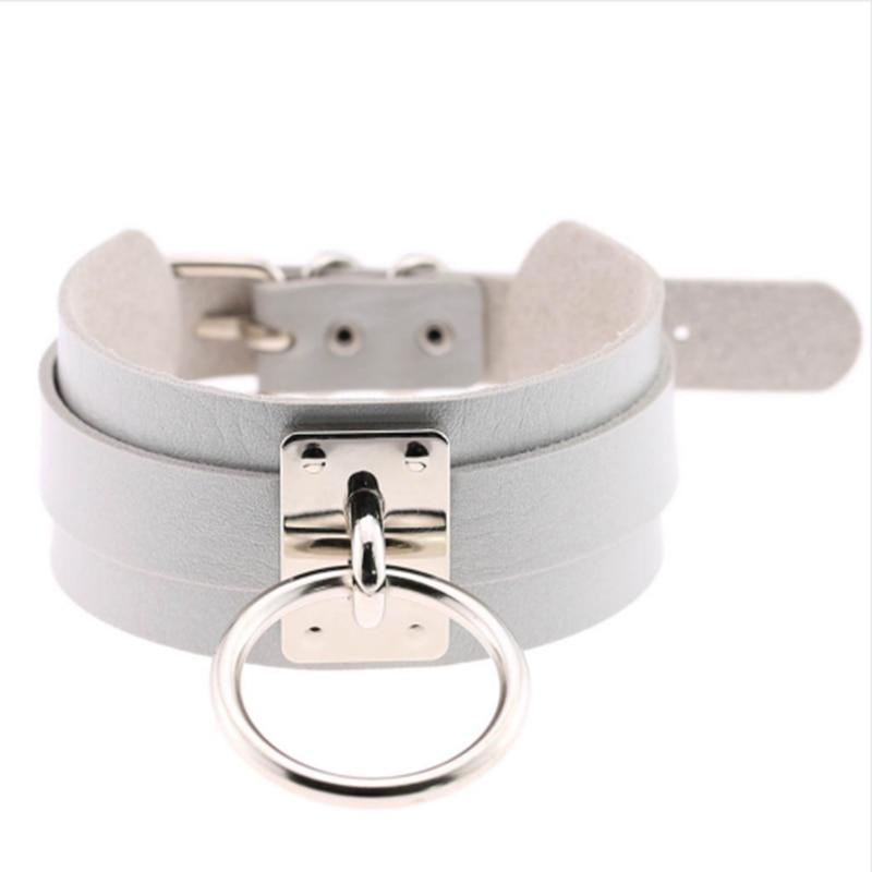 Choker Halsband mit Ring