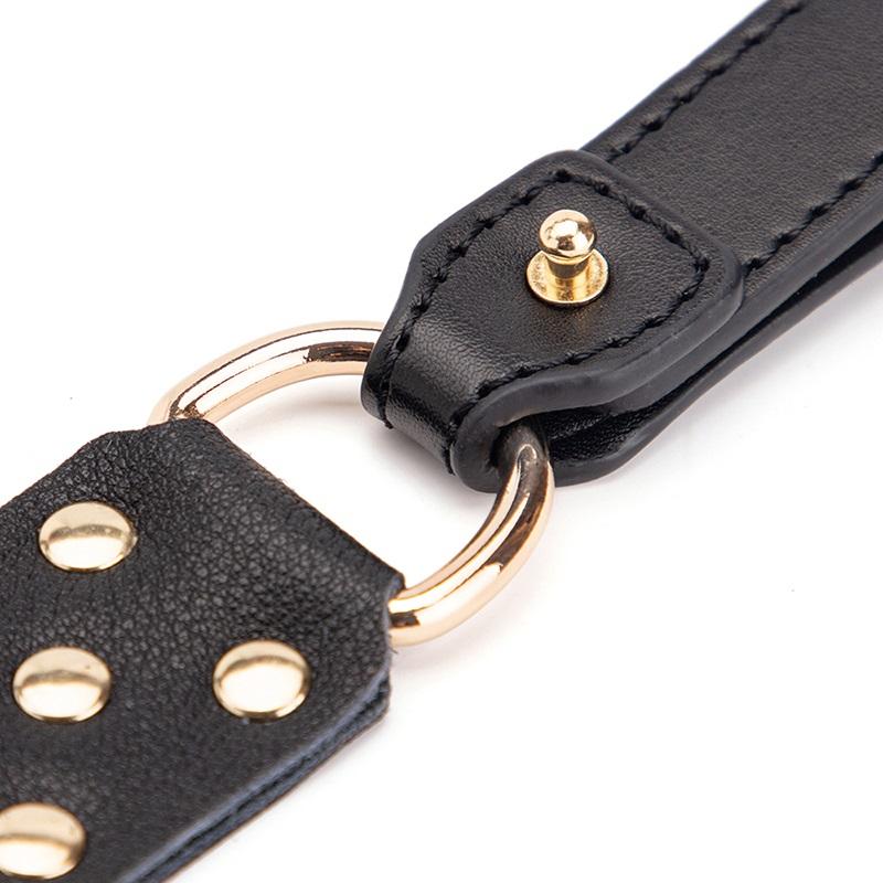 Echt-Leder BDSM-Set Luxus Bondage-Set