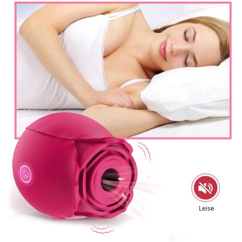 Silikon Rose Vibrator