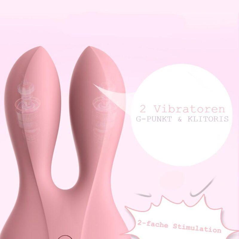 Elektro Stimulation G-Punkt und Klitoris Vibrator