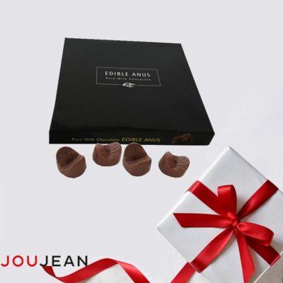Schokoladen Anus-Pralinen Schweiz Geschenk