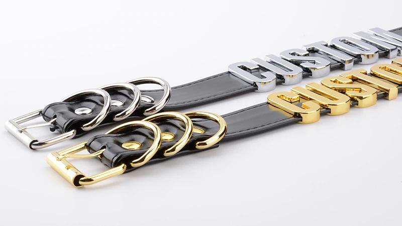 Personalisierbares Choker Halsband BDSM